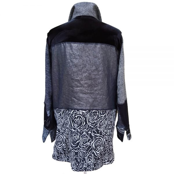 Black grey jacket