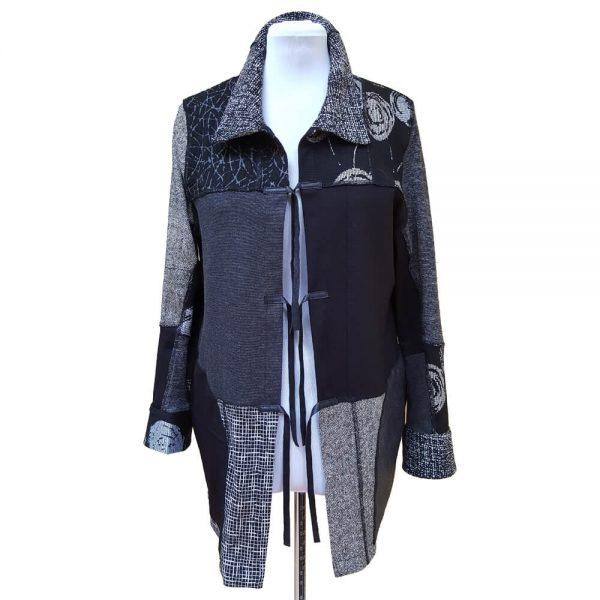 Black grey Collector jacket