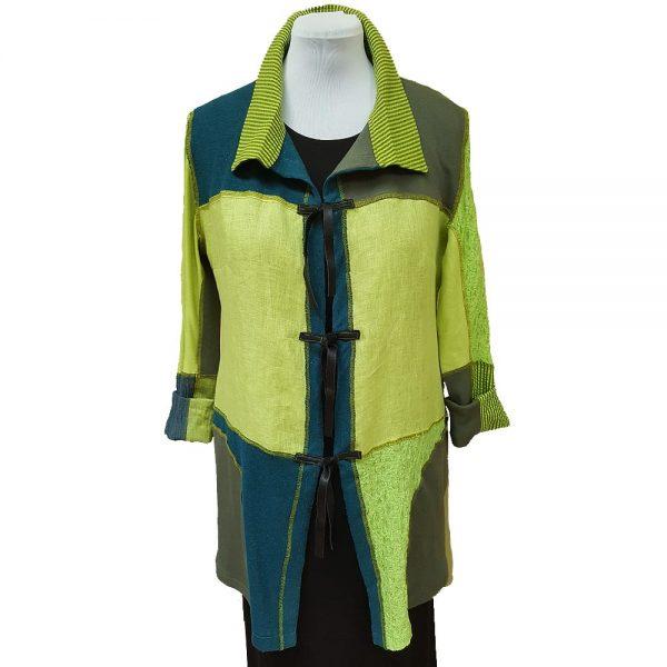 Chartreuse teal collectors jacket