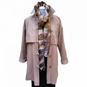 Khaki Trench jacket