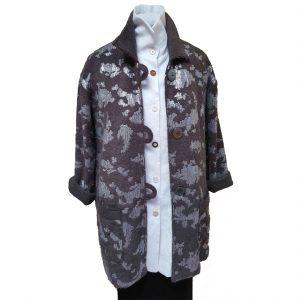 Brown sequin jacket
