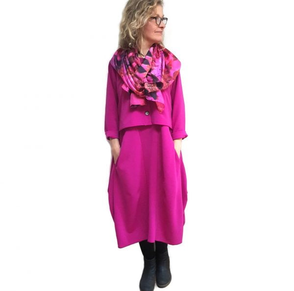 Pink London dress with jacket