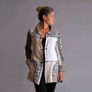 Beige white Collectors jacket