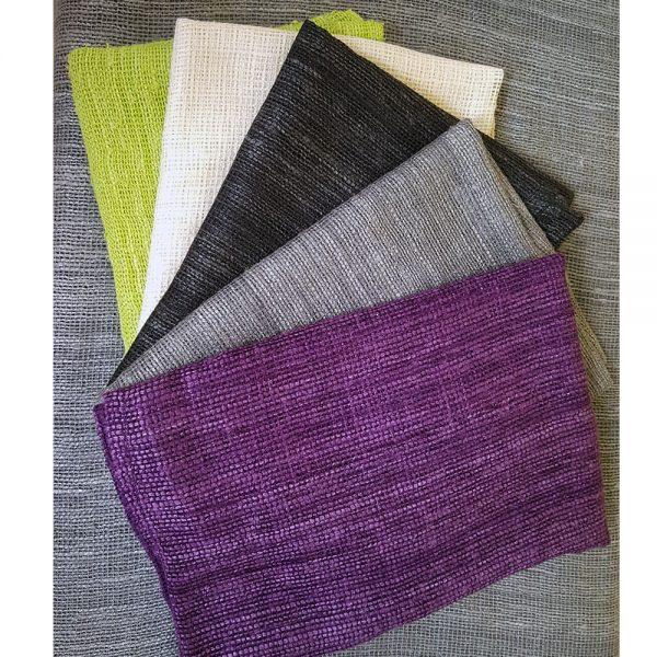 Mesh silk shawl colors